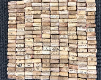 200 Used Wine Corks All Natural. No Synthetics or Champagne corks
