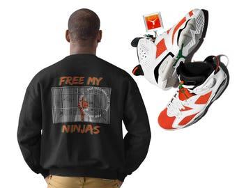 Free My Ninjas Sweatshirt