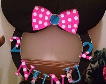 Minnie Head Selfie Frame