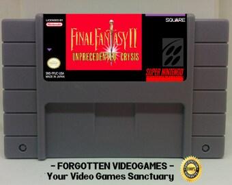 Final Fantasy VI The Eternal Crystals  - SNES Super Nintendo