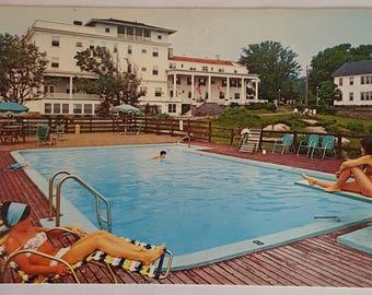 Vintage Postcard of The Ralph Waldo Emerson Inn