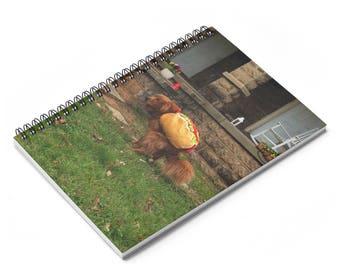 Oscar Dump Spiral Notebook