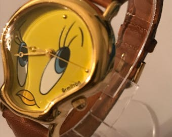 Vintage 1997 Armitron Tweety Bird Looney Tunes Watch Unworn Retired