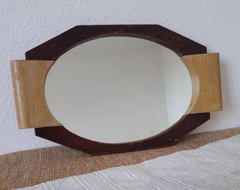 Small mirror retro/retro style mirror