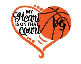 Basketball my Heart is on the court