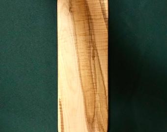 Rustic Curly Maple Bread/Serving Board