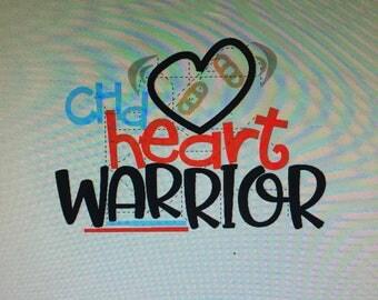Personalized Heart Warrior CHD Shirt
