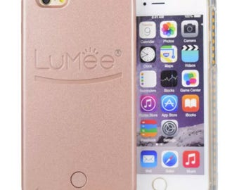 Pale Pink Light Up Case for Selfies+