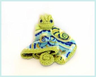 Chameleon Lovey Blanket