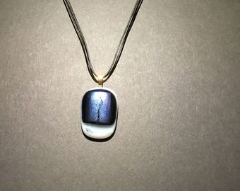 Fused Glass Pendant , perfect for Mothers Day