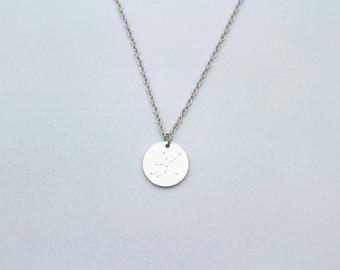 Constellation necklace / boho necklace