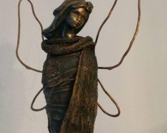 """The fairy"" powertex statue"