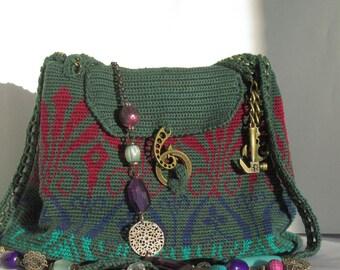 green classic bag