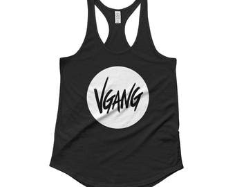 VGANG Ladies' Shirttail Tank