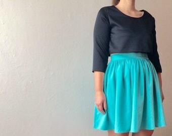Skirt - Curled skirt - Handmade skirt - Summer Skirt