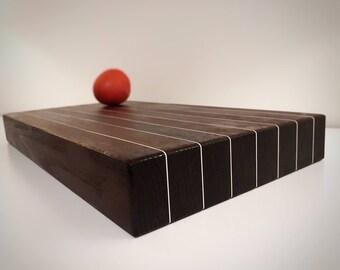 Beautiful Heat Treated Oak Cutting Board