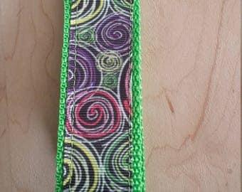 Wristlet Key Fob - Swirls