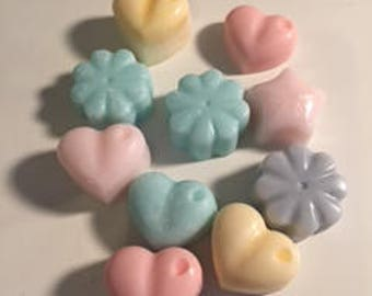 10 Handmade Large Soy Wax Melts - Beautifully Scented - Winter Warmer Scents