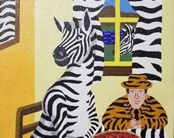 Zebra Dinner