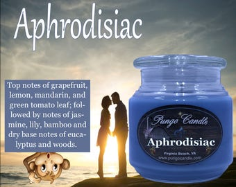 Aphrodisiac Scented Jar Candle (16 oz.)!