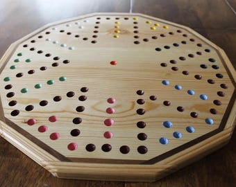 Six Player Aggravation Board