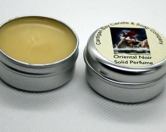 Solid Perfume Oriental Noir