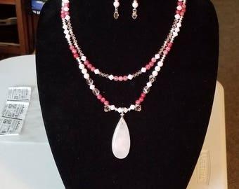 Rose quartz stunner!