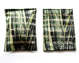 Bamboo - Tissue box cover