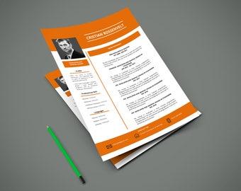 140 CV | Curriculum Vitae | CV easy to edit | Modern CV | A4 | 3 Pages