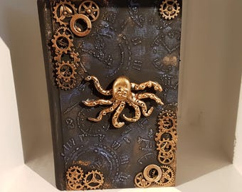 Steampunk Mixed media jewellery box