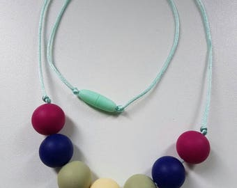Flower of Adversity - Women's statement/infant teething necklace