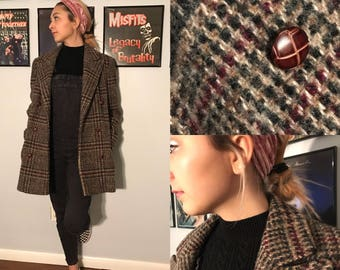 Vintage Early 80's J. G. Hook Preppy Boucle Blazer