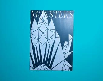 Zine 2017 - Monsters - self published - Cornelia Van Rijswijk