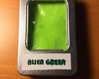 Alien Green Slime