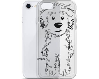 Black Doodle iPhone Case - GoldenDoodle LabraDoodle