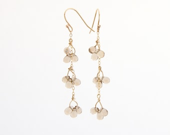 Dangle Earrings • Statement Earrings • Beaded Earrings • Wire Wrapped Jewelry • Wedding Earrings • Drop Earrings • Earrings Handmade