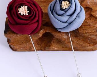 OneMan Romantic Rose Lapel Pin