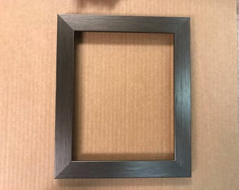 Pewter/Silver Picture Frame 8x10 11x14 16x20 20x24, custom sizing available