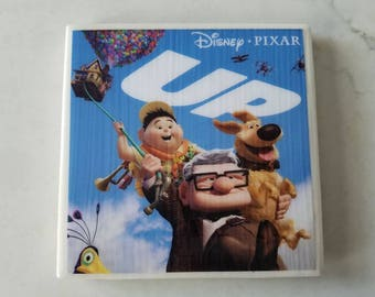 Pixar/Disney UP Ceramic Tile Coaster