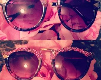 Rhinestone  Sun Glasses
