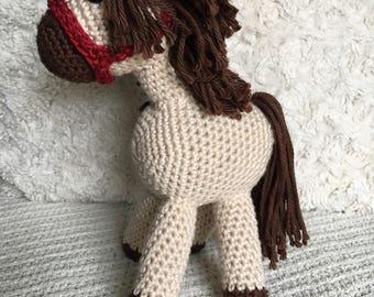 Crochet Amigurumi Pony