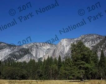 Yosemite Valley, Yosemite National Park, Digital Photograph, Home Decor, Nature