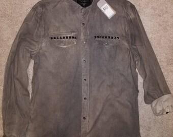GUESS Corduroy Button Up Shirt