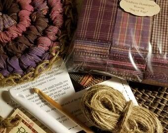 Wildberry Homespun Trivet Kit