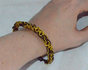 Open Round Chainmaille Bracelets