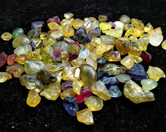 104 CT Unheated & Natural Multi Color Chrysoberyl Rough Stone Lot