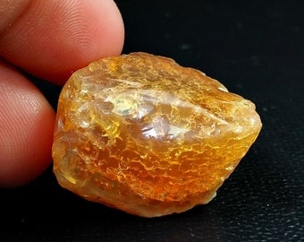 70.05 Unheated & Natural Orange Opal Rough Stone Lot