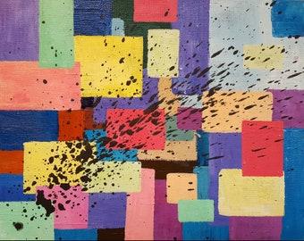 "8"" x 10"" Acrylic on Canvas Panel Original Painting"