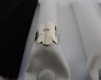 clover 925 sterling silver ring