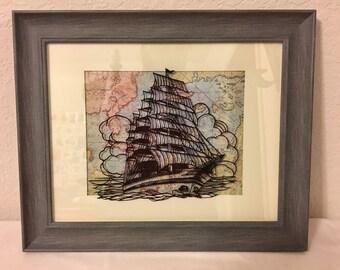 Sailing Across the Sea